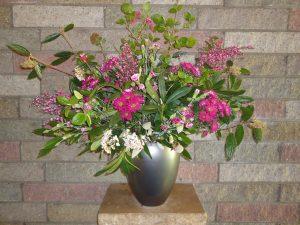 Bloemen uit de dienst