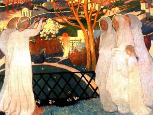 Maurice Denis, 1894-saintes-femmes-au-tombeau MuseeMDenis Saint-Germain-en-Layepic